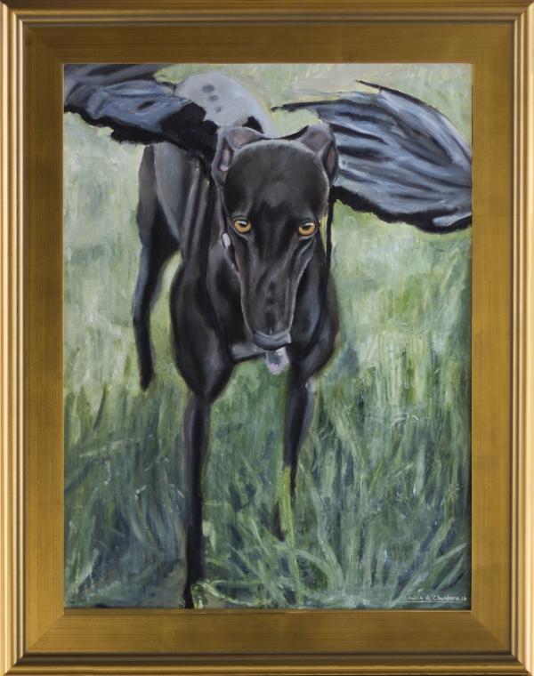"""""""Amor Vincit Omnia"""" (Oil, 18×24)"""