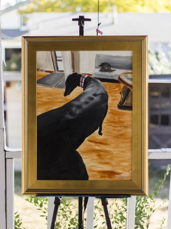 """Coco Van Gogh's Bedroom"" (Oil, 18×24)"