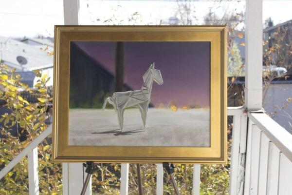 """""""Rocinante"""" (Oil, 18×24)"""