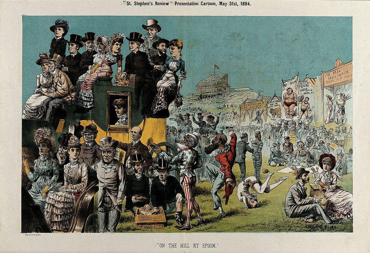 British politicians at the Epsom Derby Wellcome V0050376.jpg From Wikimedia Commons, the free media repository