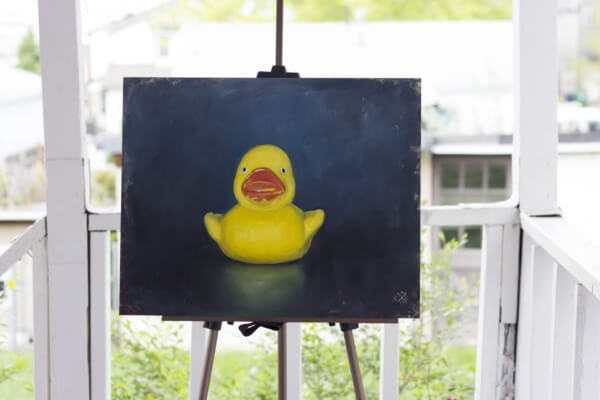 The Special Duck – Oil, 16×20
