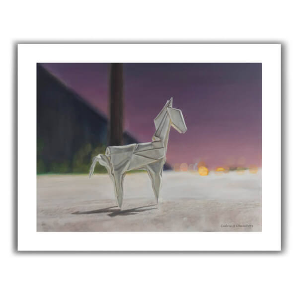 Just pay shipping! Limited Edition Origami Fine Art Print